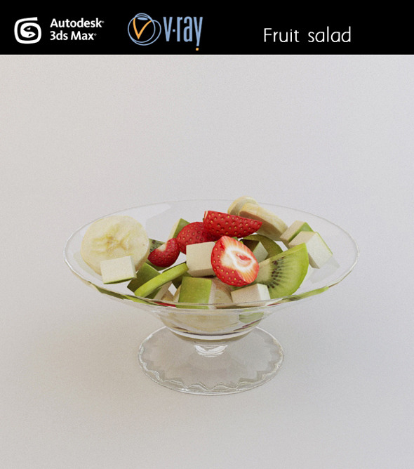 3DOcean Fruit salad 3035640