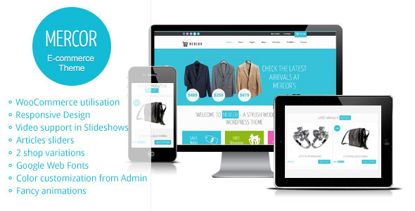 Mercor - Responsive WordPress WooCommerce Theme - WooCommerce eCommerce
