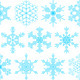 Set of decorative snowflakes - GraphicRiver Item for Sale