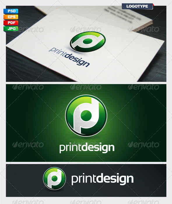 Print Design Logotype - Vector Abstract