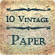 10 Vintage Paper Texture for Design - GraphicRiver Item for Sale