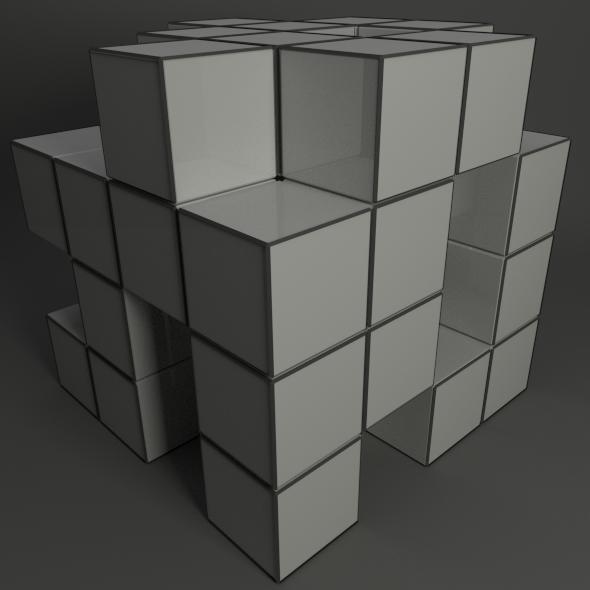 3DOcean Cubes 3043454