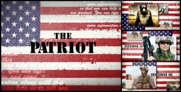 After Effects Project - VideoHive The Patriot 3044386