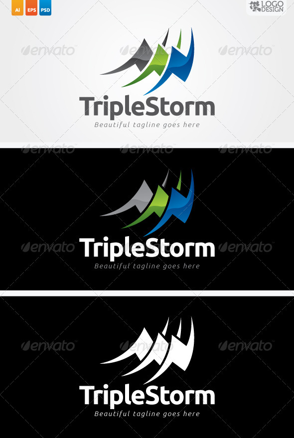 GraphicRiver Triple Storm 3044849