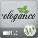 Elegance: Clean and Modern Wordpress Theme - ThemeForest Item for Sale