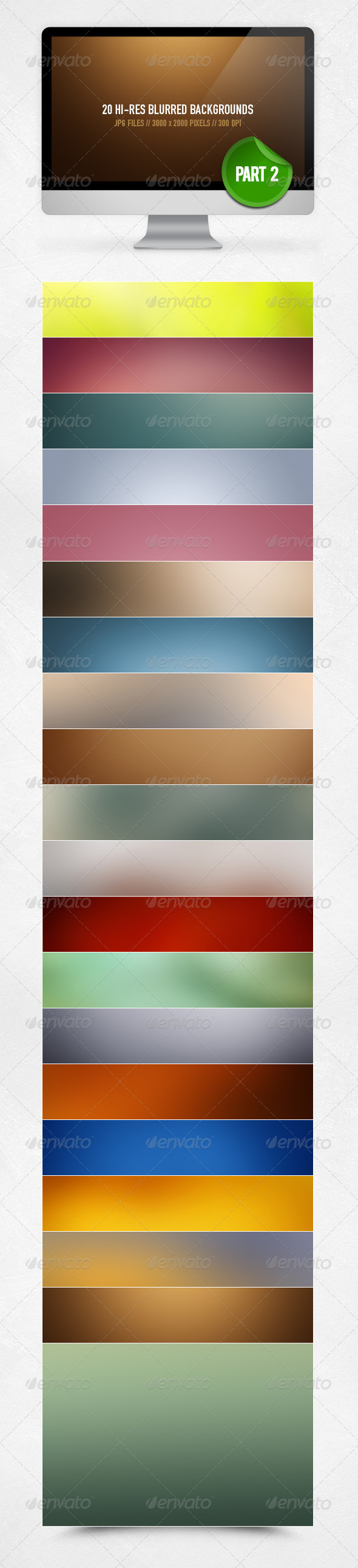 GraphicRiver 20 Blurred Backgrounds Part 2 3045983