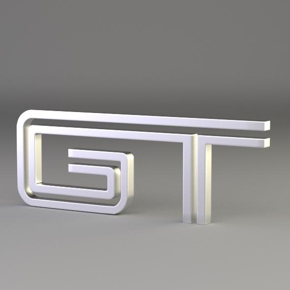 3DOcean GT Logo 3046524