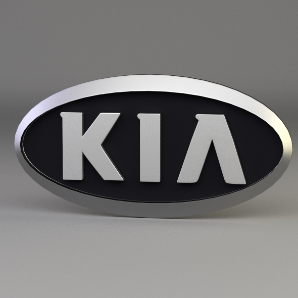 3DOcean Kia Logo 3046532