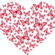 Red Butterfly Heart - GraphicRiver Item for Sale
