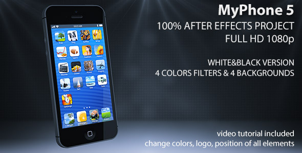 After Effects Project - VideoHive My Phone 5 3047635
