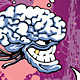 Sinister Big-brain Monster - GraphicRiver Item for Sale