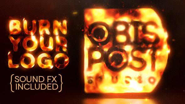 After Effects Project - VideoHive Burn Your Logo 3050130