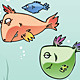 Set of the Funny Fishes  - GraphicRiver Item for Sale
