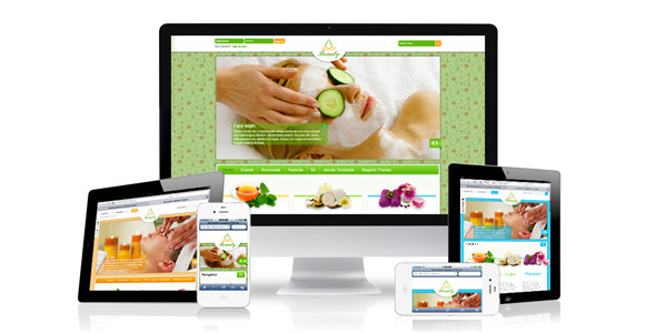 Responsive joomla template ZT Beauty