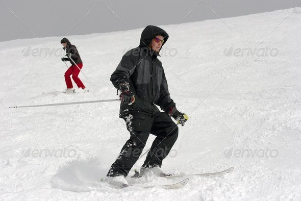 Skiers - Stock Photo - Images