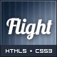 Flight - Responsive Fullscreen Background Template - ThemeForest Item for Sale