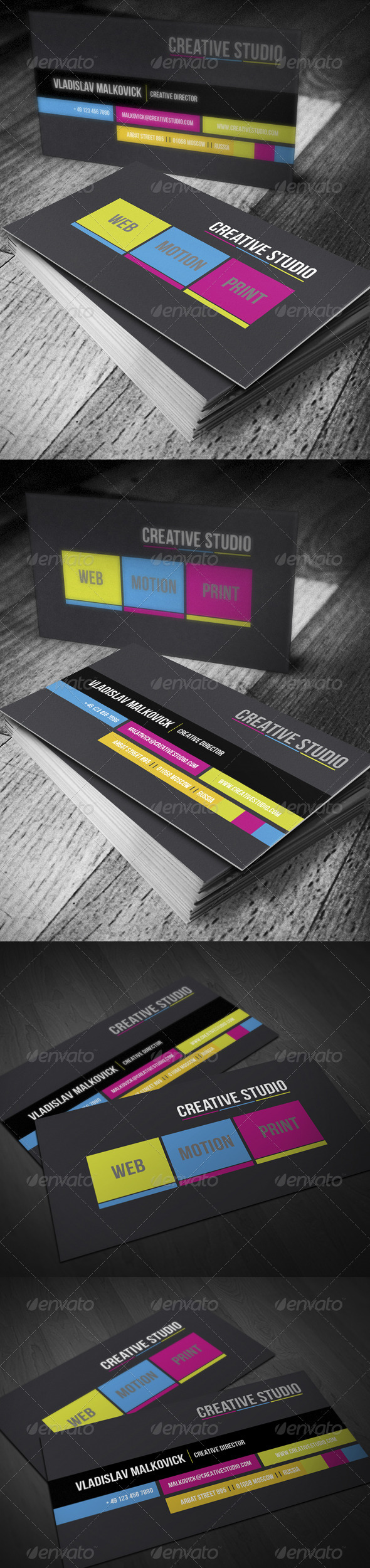 GraphicRiver Designer Business Card 3053714