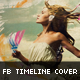 Artistic Brush Facebook Timeline Cover Template - GraphicRiver Item for Sale