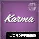 Karma - Responsive Modern Clean Wordpress - ThemeForest Item for Sale