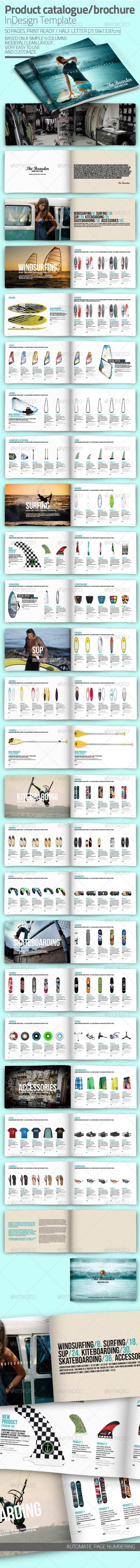 InDesign Catalogue Template - Catalogs Brochures