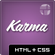 Karma - Clean and Modern Website Template - ThemeForest Item for Sale