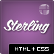 Sterling - HTML5 Responsive Web Template - ThemeForest Item for Sale