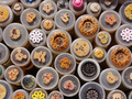 Selection of Buttons: Brown-Red-Yellow-White - PhotoDune Item for Sale