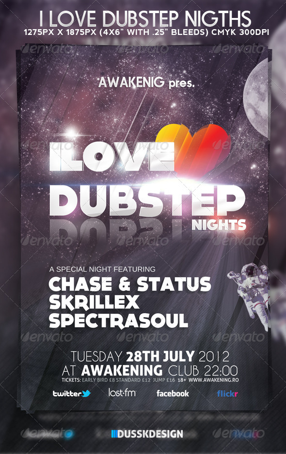 Love Dubstep Nights - Clubs & Parties Events