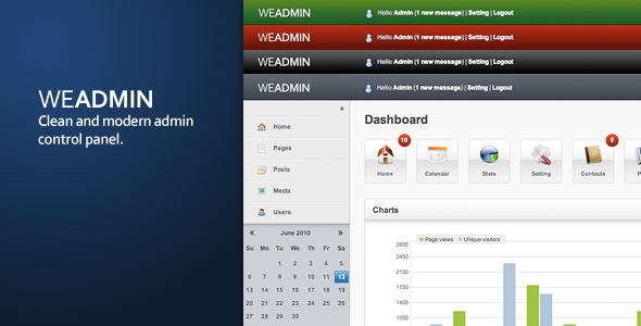 WeAdmin - Theme main cover image