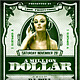 Dollar Flyer // 5 Color Versions in 2 Sizes - GraphicRiver Item for Sale