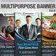 Multipurpose Banner 海报PSD-Graphicriver中文最全的素材分享平台