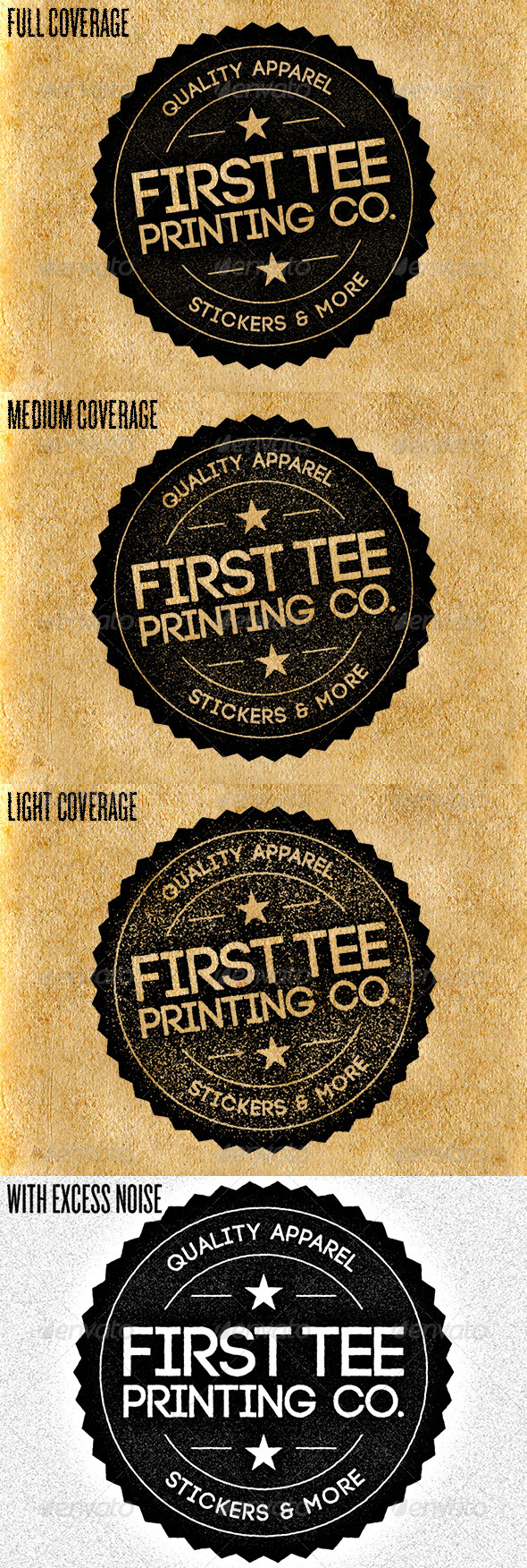 GraphicRiver Old School Stamp Photoshop Action 3061300