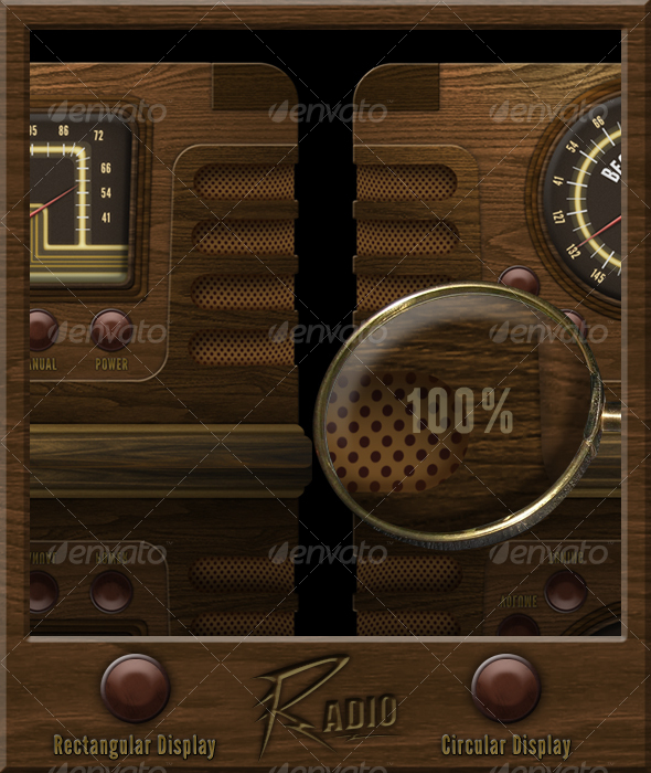 GraphicRiver Old Radio 107508