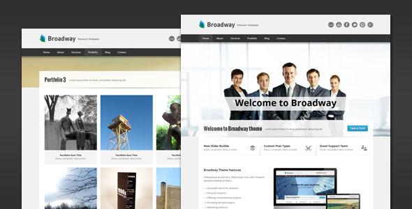 Broadway - Modern Business HTML Template
