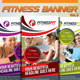 Fitness Banner Vol.3 - GraphicRiver Item for Sale