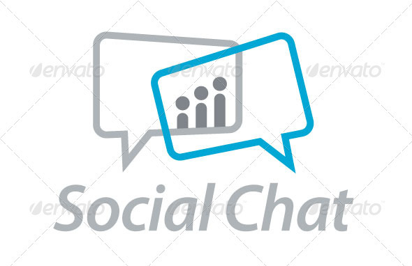 Social Chat - Symbols Logo Templates