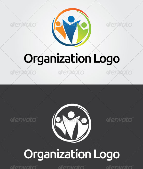 Organization Logo Template - Vector Abstract