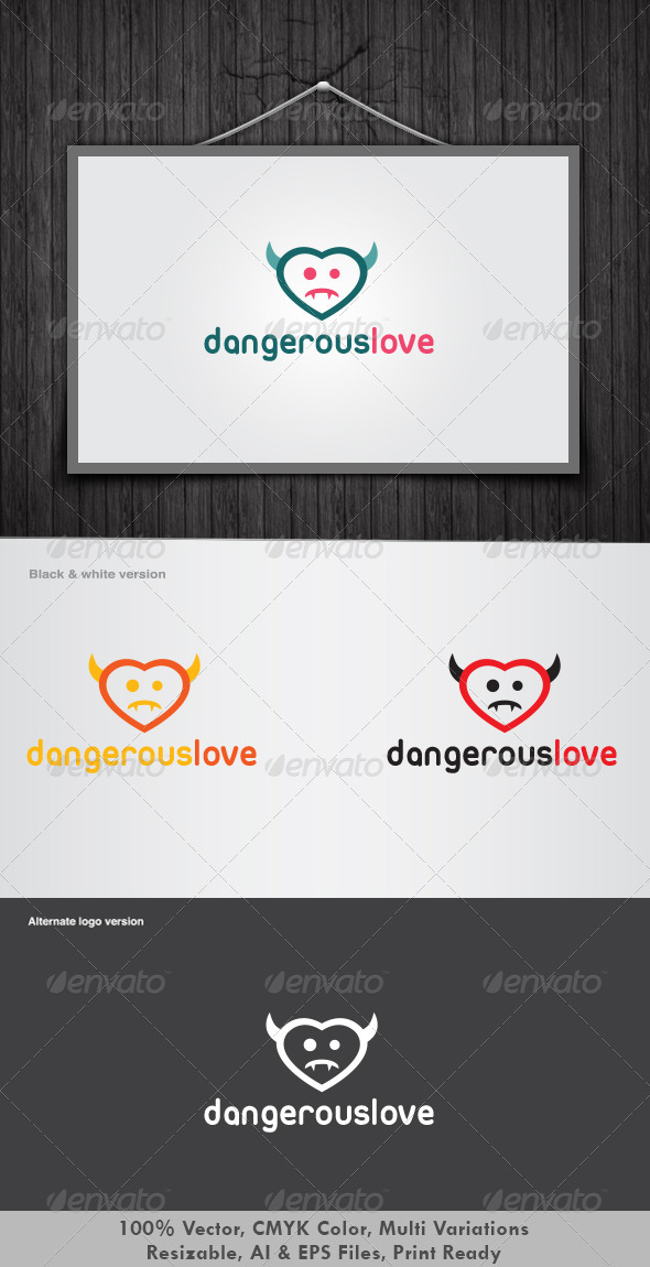 Dangerous Love Logo - Humans Logo Templates