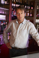 Portrait Of Barman Standing Behind Bar - PhotoDune Item for Sale