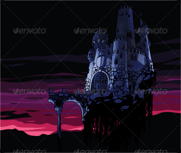 Dark Castle  - Buildings Objects