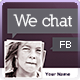 FB Cover - We Chat - GraphicRiver Item for Sale