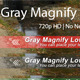 Gray Magnify Lower Third - VideoHive Item for Sale