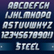 3D Metal Font - GraphicRiver Item for Sale