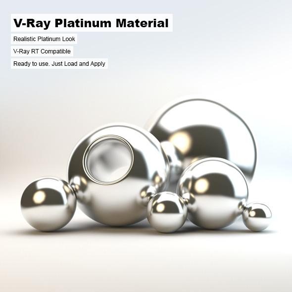 3DOcean V-Ray Platinum Material 3076921