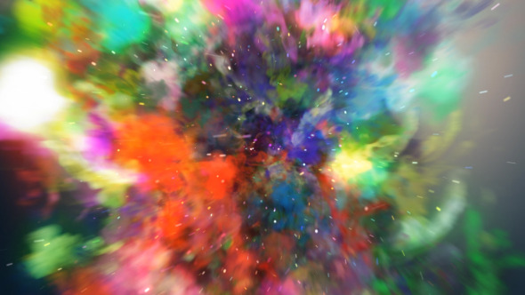 VideoHive The Colors Storm Logo Reveal 3078111