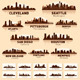 Skyline city set. 10 cities of USA #2 - GraphicRiver Item for Sale