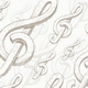 Vector seamless background with treble clef - GraphicRiver Item for Sale