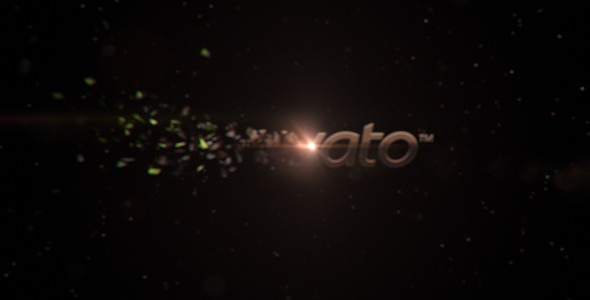 After Effects Project - VideoHive Sparkyshatter Logo Animation 3045574