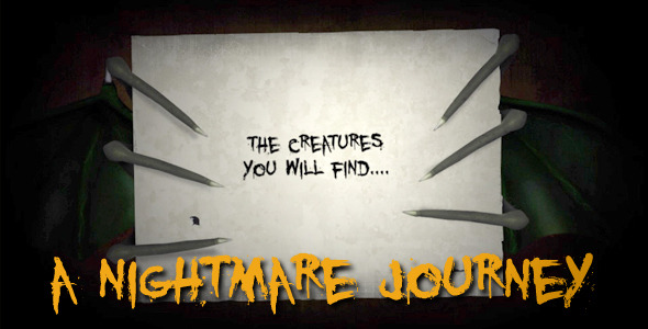 After Effects Project - VideoHive A Nightmare Journey 3087089