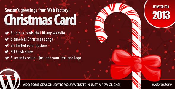 CodeCanyon Christmas Card 778752